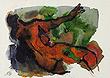 M F Husain - Autumn Art Auction