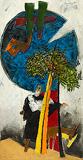 Alif Lam Meem (Tree of Knowledge) - M F Husain - Autumn Art Auction