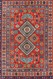 TRIBAL CARPET - CHECHNYA -    - Carpets, Rugs and Textiles Auction