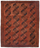 A WOOL FILPAYA CARPET - AFGHANISTAN -    - Carpets, Rugs and Textiles Auction