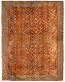 A LARGE CARPET - AGRA -    - Carpets, Rugs and Textiles Auction