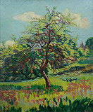 Verger en fleurs à Miregaudon (Orchard in Flowers at Miregaudon) - Jean-Baptiste-  Armand Guillaumin - Impressionist and Modern Art Auction