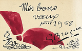 Mes Bon Voeux (My Best Wishes) - Georges  Braque - Impressionist and Modern Art Auction