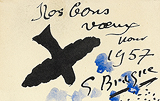 Nos Bons Voeux (Our Best Wishes) - Georges  Braque - Impressionist and Modern Art Auction