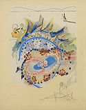 Lei from Hawaii: California Suite - Salvador  Dali - Impressionist and Modern Art Auction
