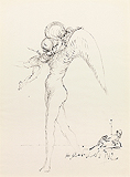 Untitled (Angels) - Salvador  Dali - Impressionist and Modern Art Auction
