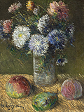 Bouquet de fleurs et fruits (Bouquet of Flowers and Fruits) - Gustave  Loiseau - Impressionist and Modern Art Auction