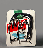 Figure Polychrome - Fernand  Léger - Impressionist and Modern Art Auction
