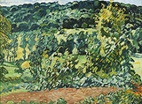 La Colline à Choisel (The Hill at Choisel) - Louis  Valtat - Impressionist and Modern Art Auction