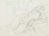 Nu sur coussins (Nude on Cushions) - Henri  Matisse - Impressionist and Modern Art Auction