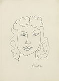 Tête de femme (Head of a Woman), from Poésies Antillaises - Henri  Matisse - Impressionist and Modern Art Auction