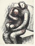 Mother and Child XI - Henry  Moore - Impressionist and Modern Art Auction