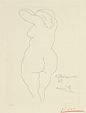 Femme Nue De Dos (Nude Women seen from the back) - Pablo  Picasso - Impressionist and Modern Art Auction