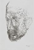 Untitled - Akbar  Padamsee - Words & Lines II Auction