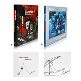 A Set of Two Signed Manu Parekh Books -    - Words & Lines II Auction