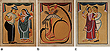 A Set of Kalighat Paintings - 24-Hour Auction: Indian Folk and Tribal Art and Objects
