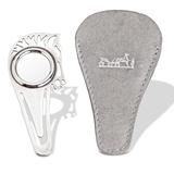 A SILVER BOOKMARK AND LOUPE, BY HERMES -    - The Gentleman's Sale