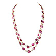 AN IMPORTANT SPINEL AND PEARL NECKLACE - Auction of Fine Jewels & Watches