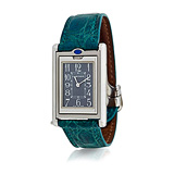 CARTIER: MENS 'TANK REVERSIBLE BASCULANTE' STEEL WRISTWATCH, REF. 2405-78322CD -    - Auction of Fine Jewels & Watches