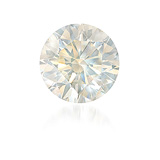 AN UNMOUNTED FANCY COLOURED DIAMOND -    - Auction of Fine Jewels & Watches