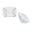 A WELL MATCHED PAIR OF UNMOUNTED DIAMONDS - Auction of Fine Jewels & Watches