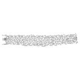 AN IMPRESSIVE DIAMOND BRACELET -    - Auction of Fine Jewels & Watches