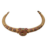 AN IMPORTANT PERIOD GEMSET 'HASLI' NECKLACE -    - Auction of Fine Jewels & Watches