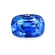 AN UNMOUNTED NATURAL KASHMIR SAPPHIRE - Auction of Fine Jewels & Watches