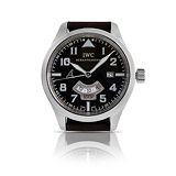 IWC: MENS 'UTC ANTOINE DE SAINT EXUPERY' STEEL WRISTWATCH, REF. 3261-04 -    - Auction of Fine Jewels & Watches