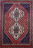 TRIBAL AFSHAR - SOUTH WEST IRAN -    - 24-Hour Auction: Carpets and Rugs