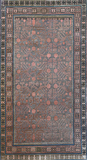 KHOTAN CARPET, POMEGRANATE DESIGN - EAST TURKESTAN -    - 24-Hour Auction: Carpets and Rugs