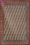 QUM, PERSIAN PAISLEY - CENTRAL IRAN -    - 24-Hour Auction: Carpets and Rugs