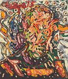 Head - F N Souza - Spring Art Auction