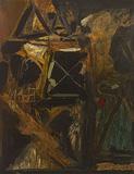 Night - S H Raza - Summer Art Auction 2012