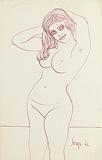 Untitled - F N Souza - Summer Art Auction 2012