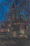 East End Factory - London - F N Souza - Winter Online Auction: Modern Indian Art