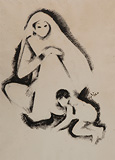 Untitled - N S Bendre - Winter Online Auction: Modern Indian Art