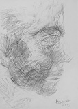 Untitled - Akbar  Padamsee - 24-Hour Auction: Words & Lines III
