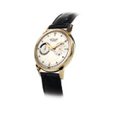 LECOULTRE: MENS 14 K GOLD 'FUTUREMATIC' WRISTWATCH -    - Absolute Auction of Indian Art & Collectibles