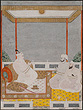 Two Nawabs Seated in Front of a Murshidabad Ruler - Indian Miniature Paintings and Works of Art