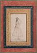 A Portrait of a Princess - Indian Miniature Paintings and Works of Art