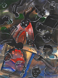 Silverheads - Bhupen  Khakhar - Autumn Art Auction