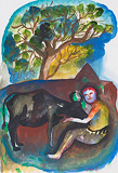 Untitled - Bhupen  Khakhar - Autumn Art Auction