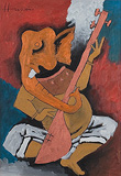 Untitled - M F Husain - Autumn Art Auction