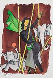 Untitled - M F Husain - Autumn Art Auction