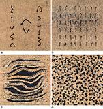 a) Arrange b) Align c) Breath d) Feel - Manisha  Parekh - Autumn Art Auction