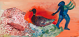The Duck - Nalini  Malani - Autumn Art Auction