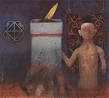 The Pillar - Ganesh  Pyne - Autumn Art Auction
