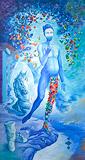 Ochre Dust in a Delusional Paradise - Ranbir  Kaleka - Autumn Art Auction
