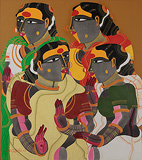 Untitled - Thota  Vaikuntam - Autumn Art Auction